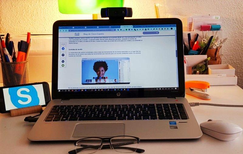 las videoconferencias y la enseñanza en los centros de idiomas